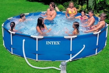 INTEX Metal Frame Pool Set 28234