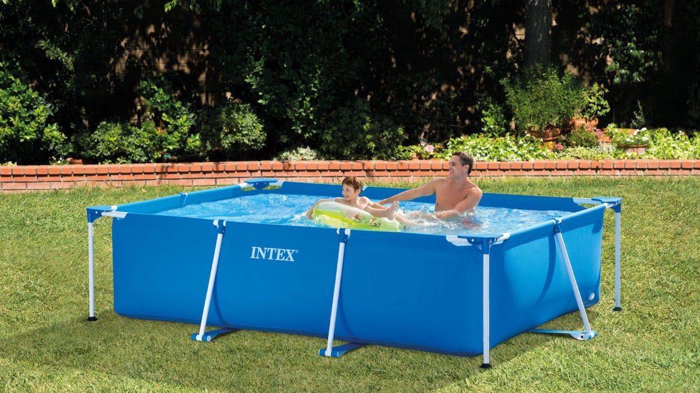 INTEX Metal Rectangular Frame Pool 28272