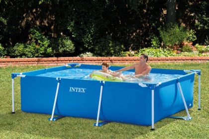 INTEX Metal Rectangular Frame Pool 28272