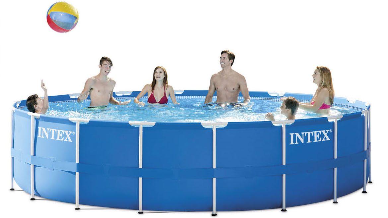 INTEX Metal Frame Pool Set 28252