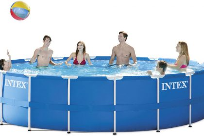 INTEX Metal Frame Pool Set 28252