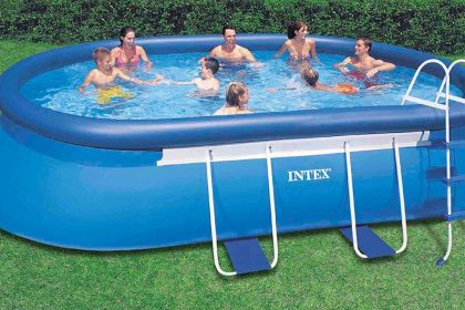 INTEX Oval Frame Pool Set 26192