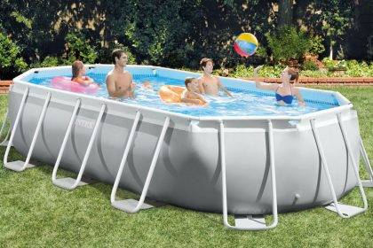 INTEX Prism Frame Oval Pool Set 26798