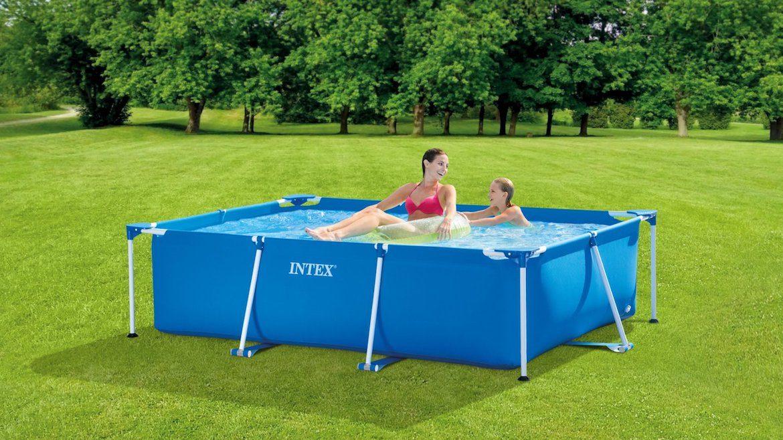INTEX Metal Rectangular Frame Pool 28270