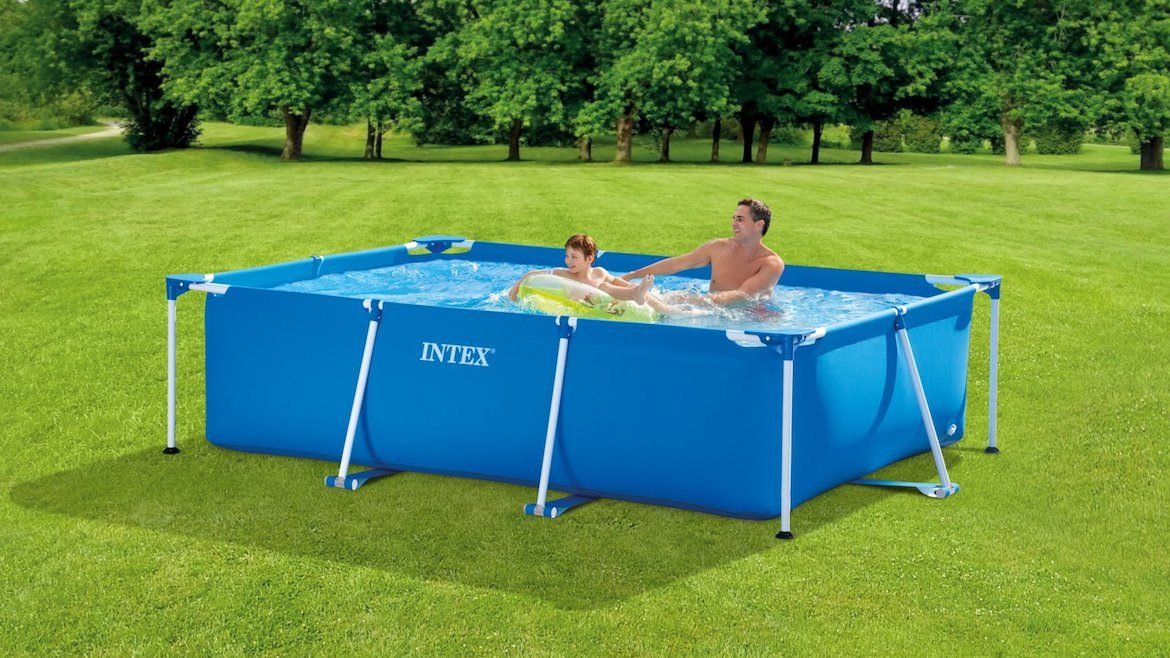 INTEX Metal Rectangular Frame Pool 28271