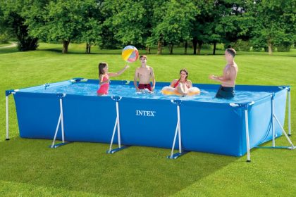 INTEX Metal Rectangular Frame Pool 28273