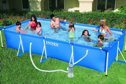 INTEX Metal Rectangular Frame Pool 28274